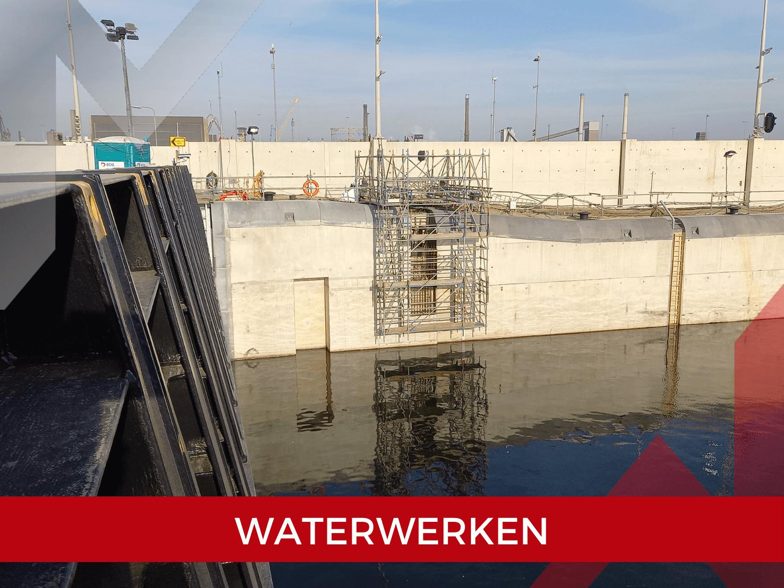 Waterwerken Marsé Montage